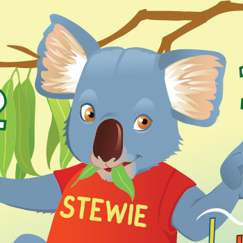 Magical Mountains Stewie Koala
