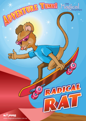 Adventure Time Radical Rat poster