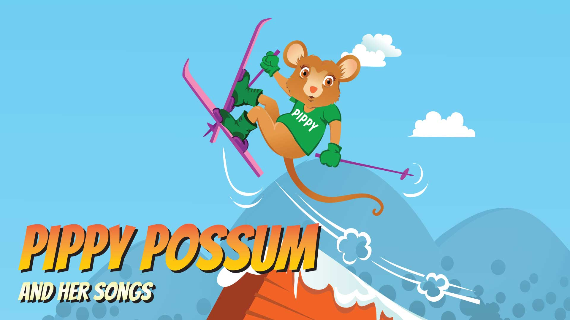 Magical Mountains Pippy Possum