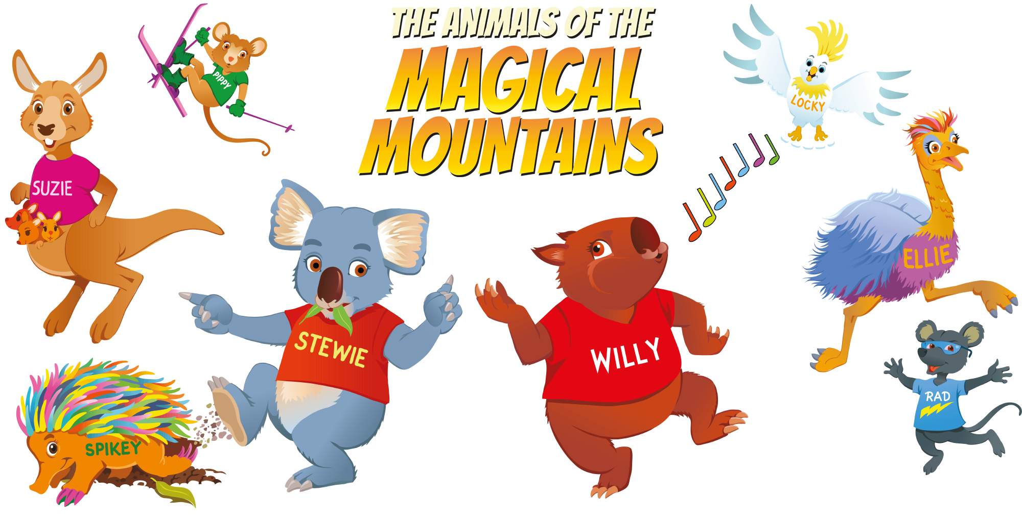 The Animals of The Magical Mountains