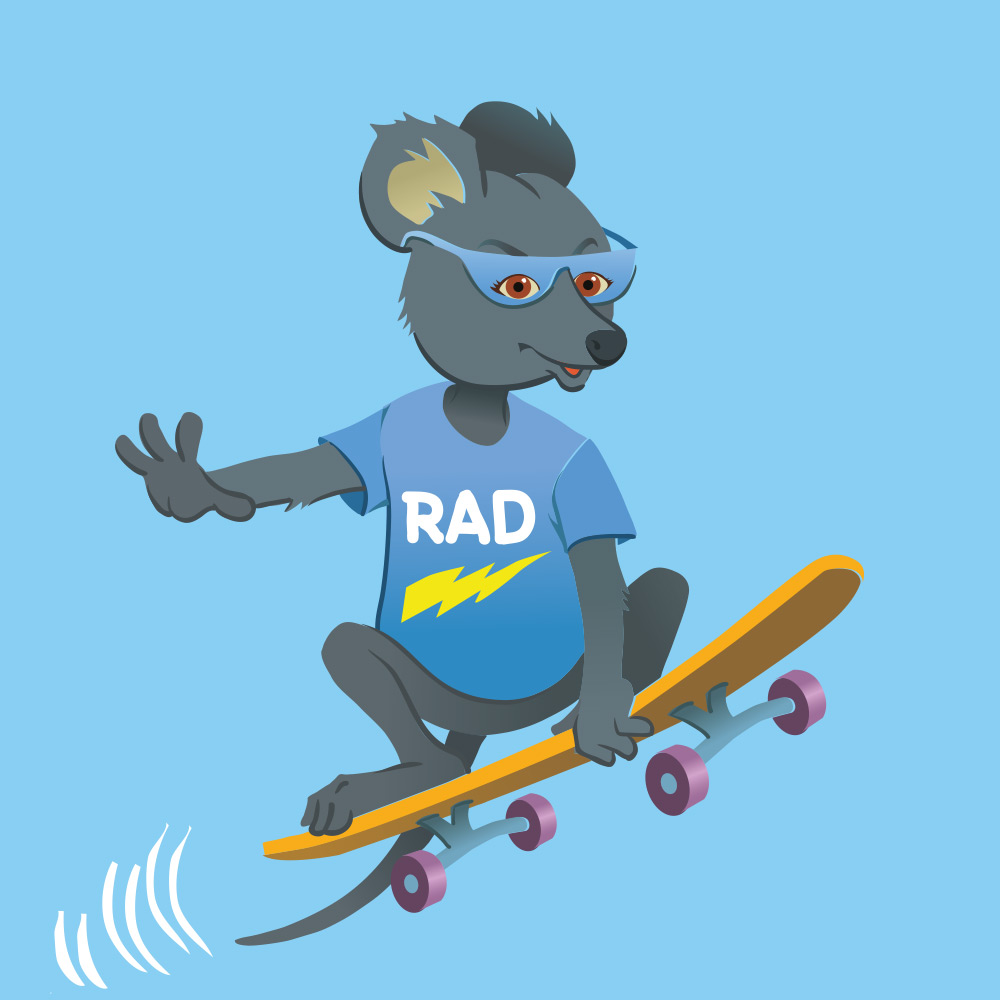 Magical Mountains Radical Rat