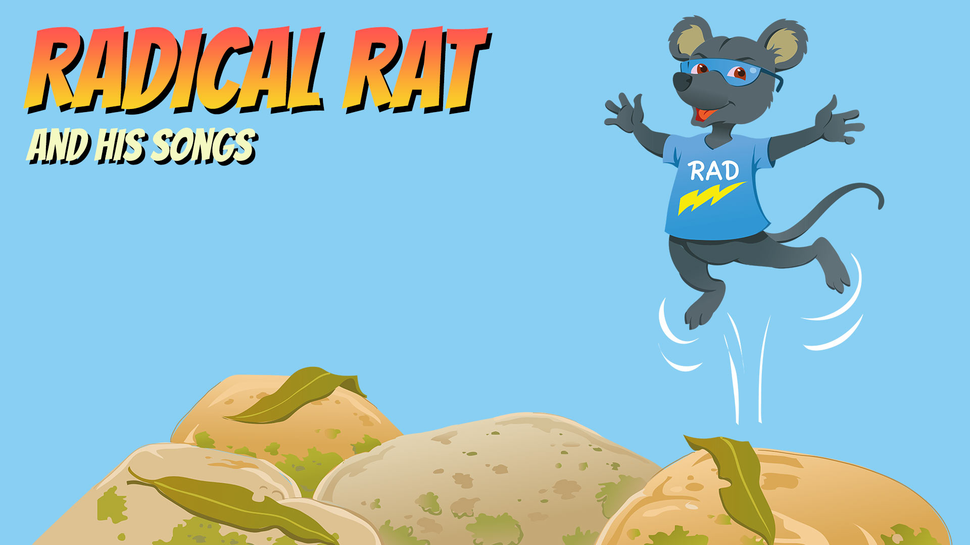 Magical Mountains Radical Rat and his songs