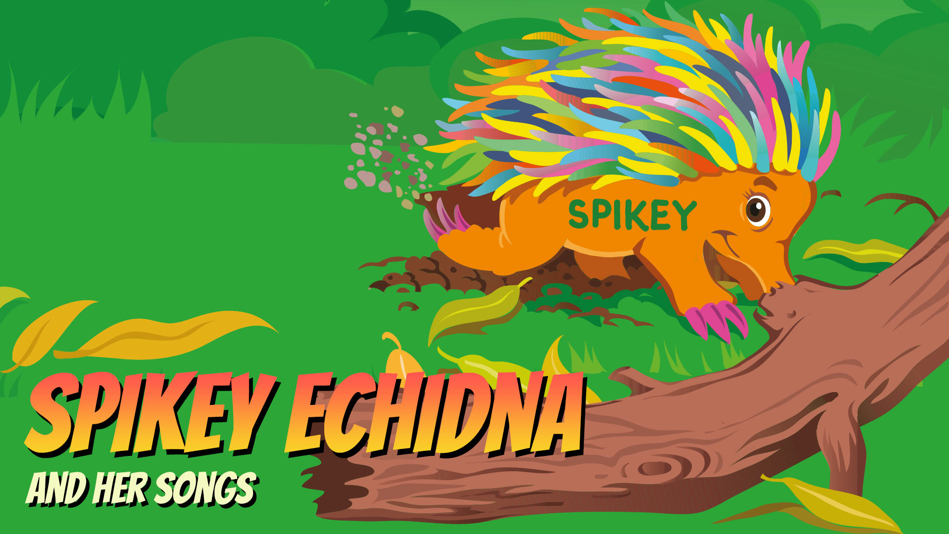 Magical Mountains Spikey Echidna and her songs