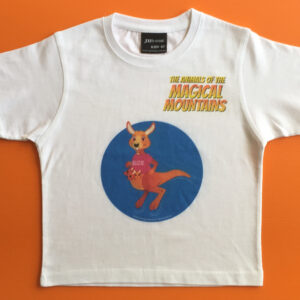 Suzie Roo blue circle t-shirt - The Animals of The Magical Mountains