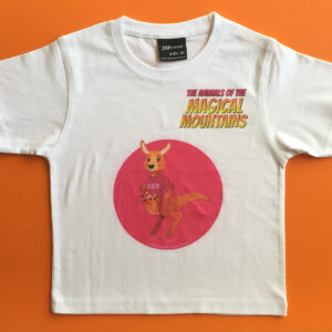 Suzie Roo pink circle t-shirt - The Animals of The Magical Mountains