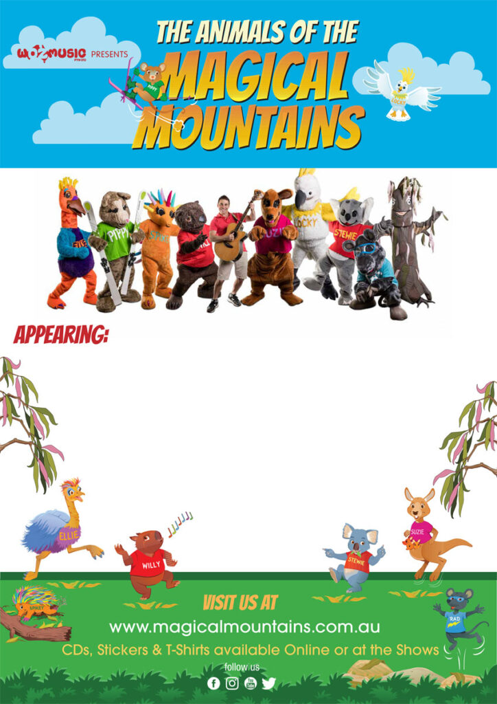 Magical Mountains Poster